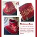 Christmas Snow Cowl pattern