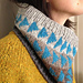 Flying Geese Cowl pattern