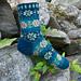 Evening Rose Socks pattern