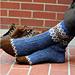 Border Socks pattern