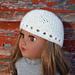 "Garter Stitch Knitted 18"" Doll Hat pattern"
