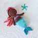 Little Ariel, the Mermaid pattern