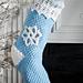 Snowflake Stocking pattern