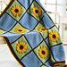 Golden Sunflowers Afghan pattern