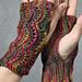Scalloped Fingerless Gloves pattern