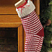 Peppermint Stick Stocking pattern