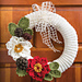 Holiday Traditions Wreath pattern