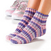Ribbed Anklets pattern