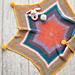 Rainbow Star Baby Blanket pattern