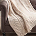 Elegant Cable Throw pattern