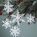 Delicate Snowflakes pattern