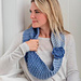 Bubble Infinity Scarf pattern
