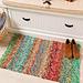 Linen Stitch Scrap Rug pattern