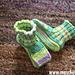 Baby Schuhe (Puppenschühchen) pattern