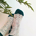 The Poison Ivy Socks // Eføysokkene pattern