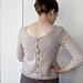 Beaded back pattern