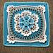 Starflower Afghan Square pattern
