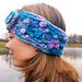 Bubbles and Waves Earwarmer pattern