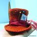 Mini Mad Hatter's hat pattern