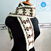 Ladder unisex scarf pattern
