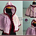 Scent of Spring hooded cape pattern