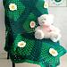 Wild Daisies Baby Blanket pattern