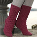 109-32 socks with diamond pattern pattern
