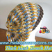 Thick Mesh Slouch Hat pattern