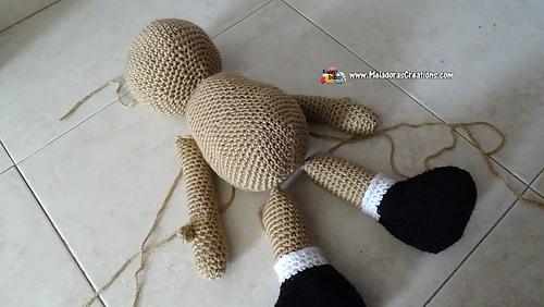 Ball-jointed amigurumi doll body, handmade, interior doll tutorial ... | 282x500