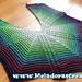 Butterfly Riptide Shawl pattern