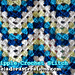 Granny Ripple Crochet Stitch Pattern pattern