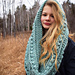 Hannāh crochet cowl pattern