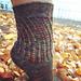 Slippery Slope Socks pattern