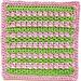 All in a Row Dishcloth pattern