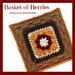 Basket of Berries Afghan Square pattern