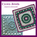 Crown Jewels Afghan Square pattern