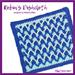 Robin's Dishcloth pattern