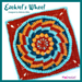 Ezekiels Wheel Afghan Square pattern