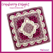 Cranberry Delight Afghan Square pattern