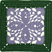 Royal Romance Afghan Square pattern