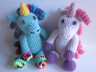 Cute Crochet Unicorn Amigurumi - Free Patterns - DIY 4 EVER | 240x320