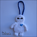 Baymax Luggage or Backpack Tag pattern