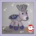 Reyna the Christmas Reindeer pattern
