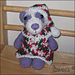 Precious Pandas Christmas Dress and Hat pattern