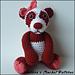 Miranda the Valentine's Day Panda pattern