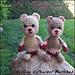 Small Valentine's Teddy Bear pattern