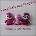 Valentine's Day Penguins pattern