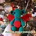 Baby Christmas Dragon pattern