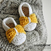 Baby Bow shoes pattern