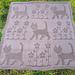 Cats Blanket pattern